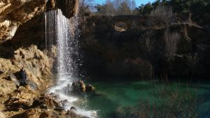 Cascada del molino de San Pedro. Vallecillo. SILVIA TORNOS