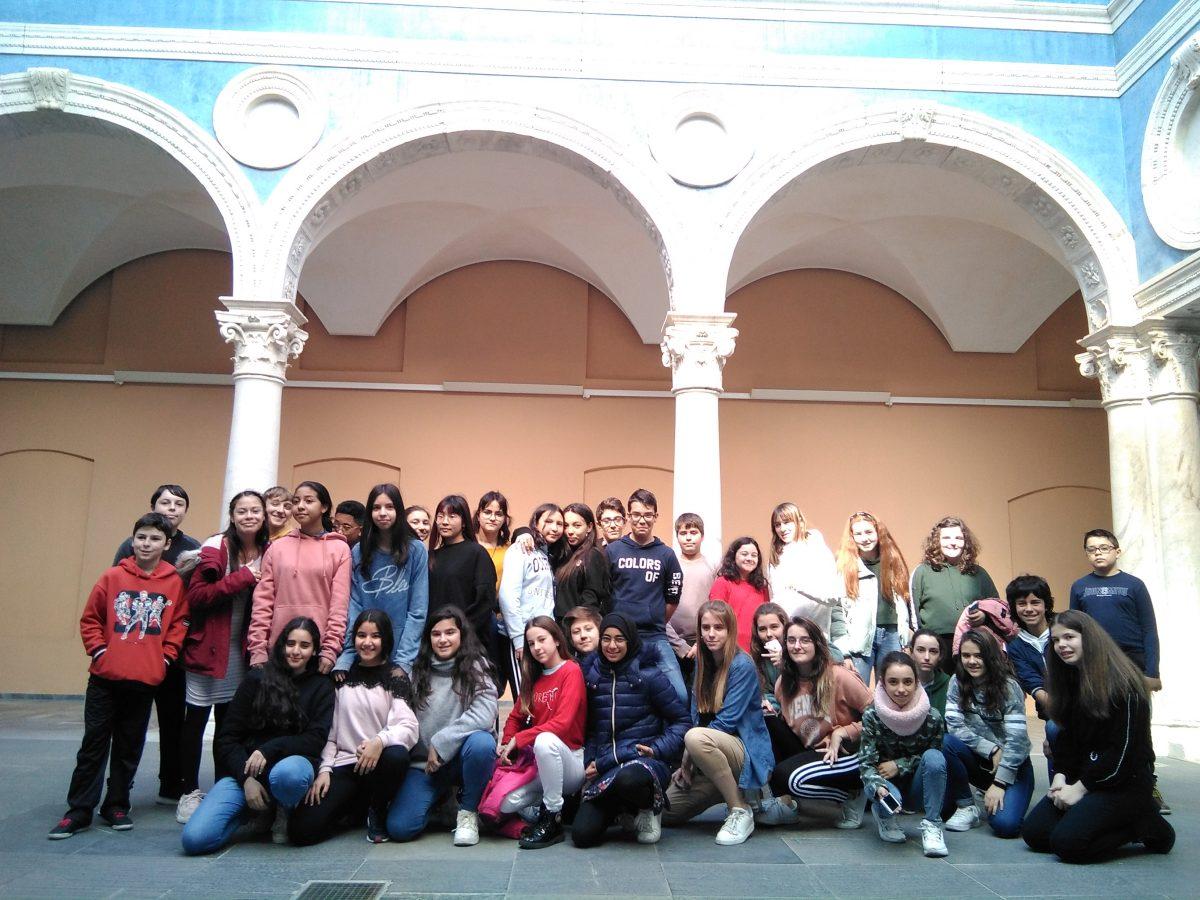 TEATRO en Francés alumnos de 1º de ESO